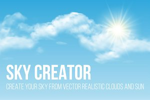 Sky Creator for Adobe Illustrator