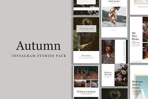 Autumn - Instagram Stories Pack