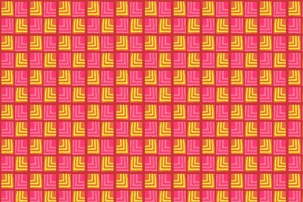 Handmade Tribal Print Boxes Pattern