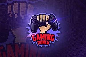 Gaming Punch - Mascot & Esport Logo