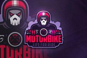 Motorbike - Mascot & Esport Logo