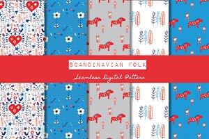 Scandinavian Folk Holiday Pattern