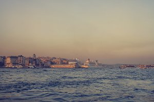 Sunset on the Bosporus