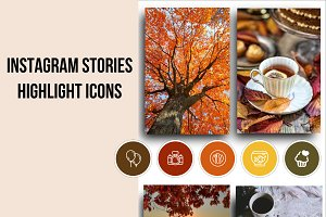 55 Instagram Story Highlight Icons