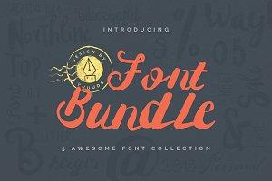 Best Fonts Bundle - 60% off