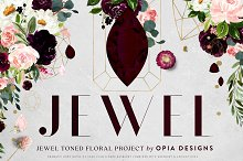JEWEL - Deep Floral Project