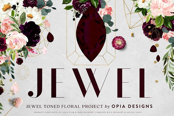 JEWEL - Deep Floral Project