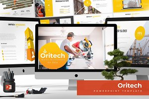 Oritech - Powerpoint Template