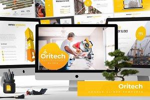 Oritech - Google Slides Template