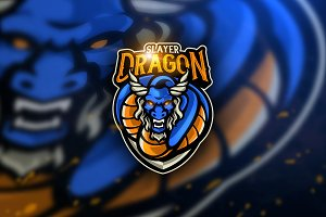 Dragon Slayer - Mascot & Esport Logo