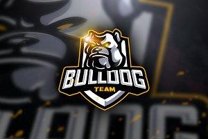 Bulldog Team - Mascot & Esport Logo