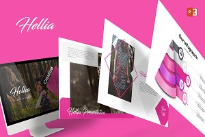 Hellia - Powerpoint Template