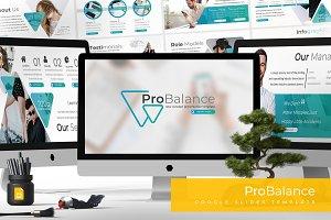 Probalance - Google Slides Template