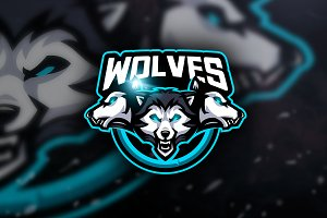 Wolves -  Mascot & Esport Logo