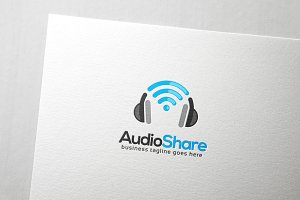 Audio Share Logo