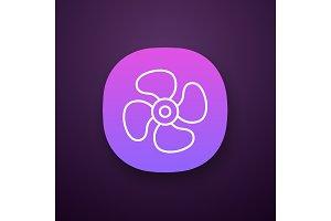 Air ventilation app icon