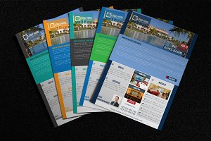 Corporate Property Business Flyer