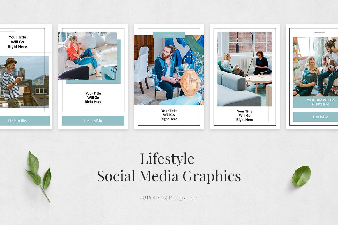 Lifestyle Pinterest Posts
