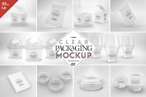 07 Clear Container Packaging Mockups