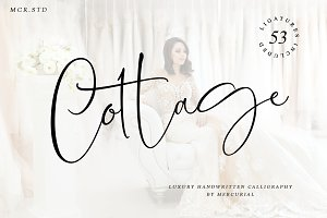 Cottage (Luxury Handwritten Font)