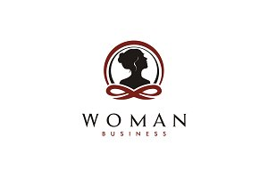 Woman Therapy logo design