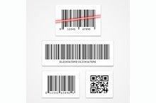 Vector set barcode