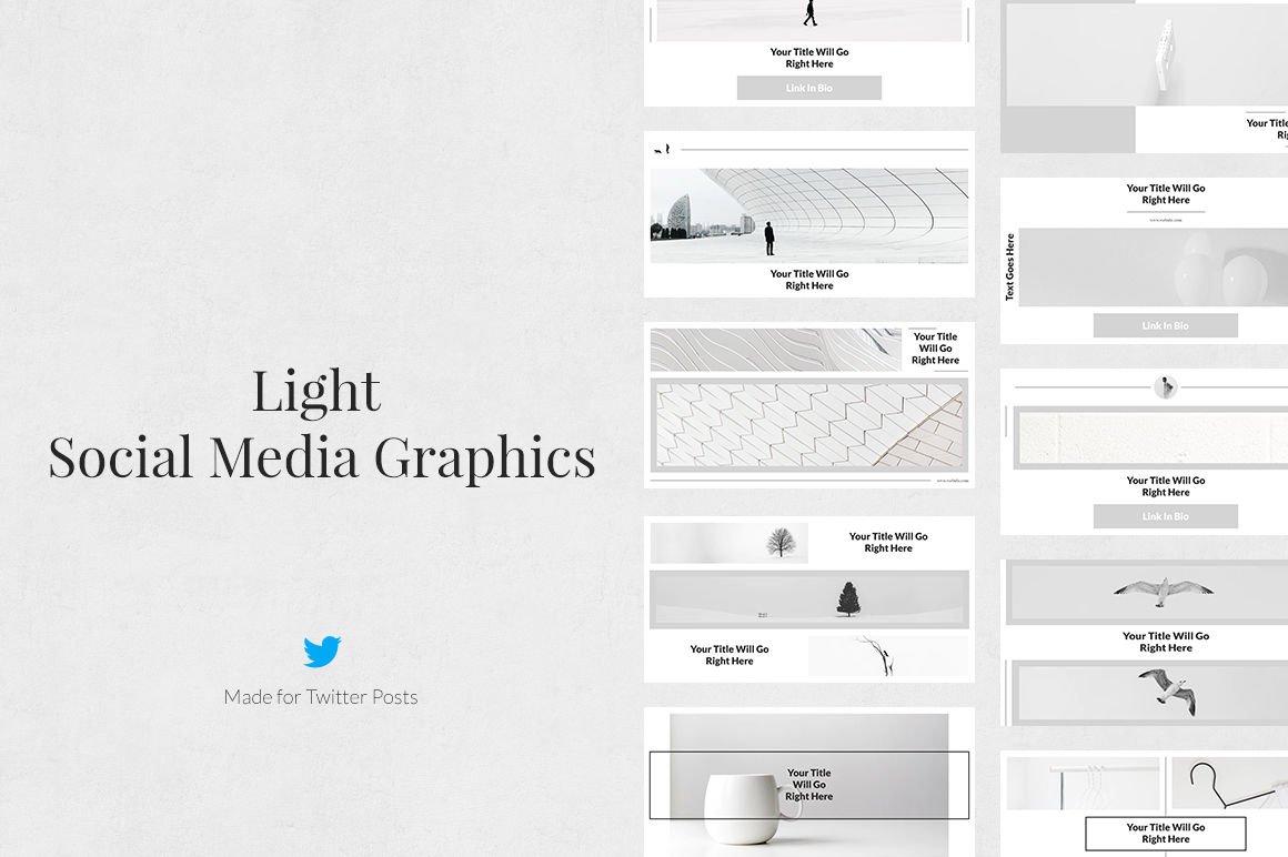 Light Twitter Posts