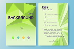Abstract Business Flyers, eps 10