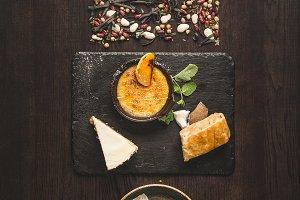 Concept of modern gfood design minim