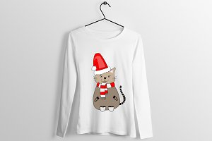 Christmas T Shirt Design Art