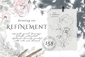 30% OFF! Refinement – drawing set