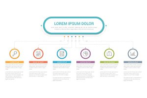 Infographic Template with 6 Elements