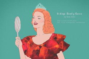 Vintage Beauty Queen