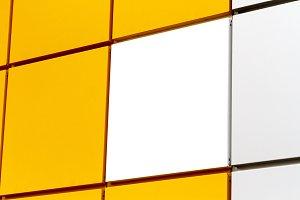 multi-colored blocks yellow white