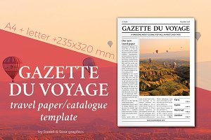 Gazette du Voyage paper/catalogue