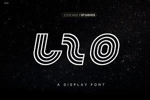 LZO - Icon and Logo Font