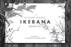 IKEBANA. Botanical Winter Kit.