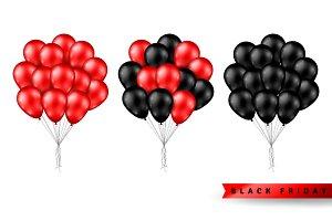 Balloons for Black Friday