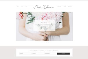 Aria - WordPress Theme