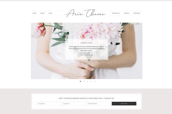 Aria - WordPress Theme