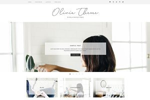 Olivia - WordPress Theme