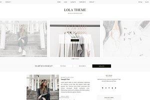 Lola - WordPress Theme