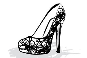 heels/ shoes vector