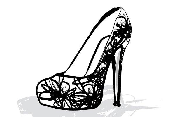 heels/ shoes vector