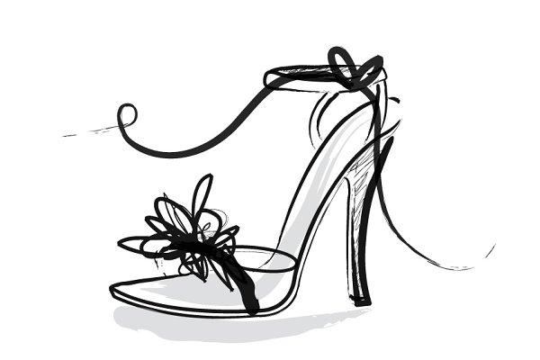 shoes/heels/sandals vector