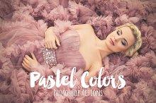 Pastel Colors Photoshop Actions