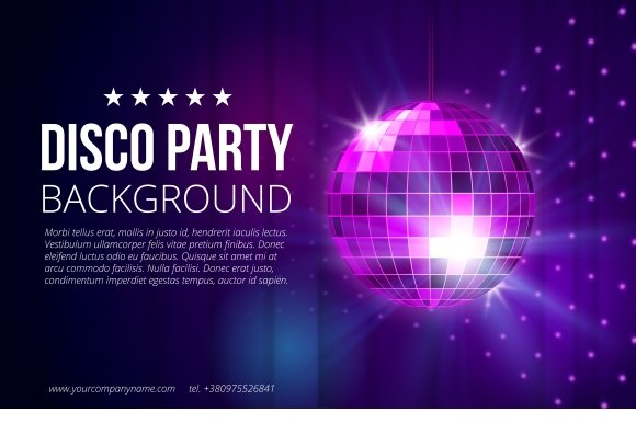 disco party background graphics creative market
