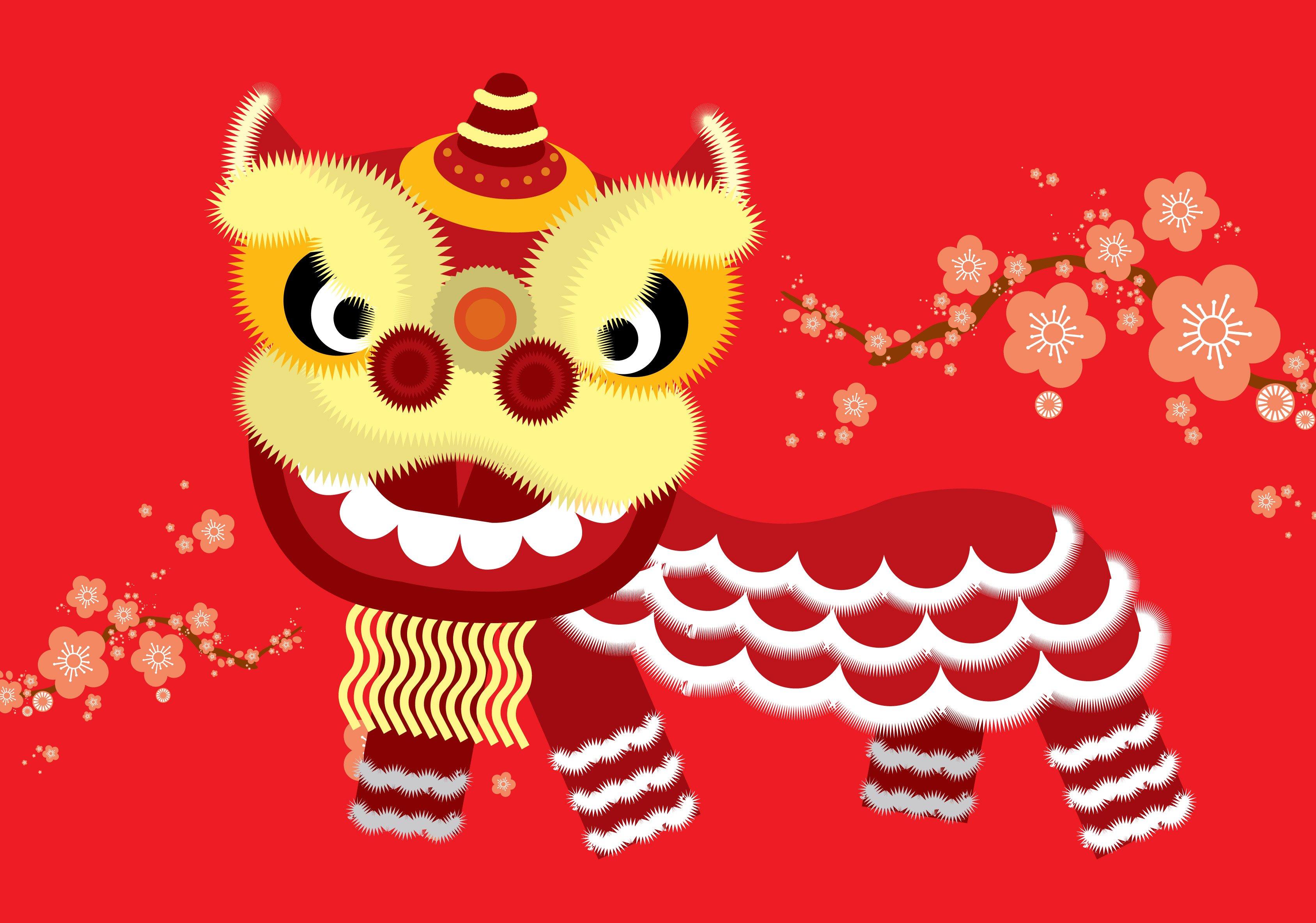 Lion Dance Logo