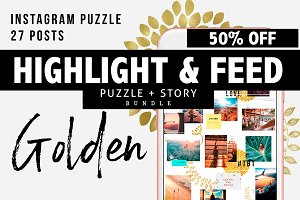 Puzzle + Story Highlights 50%OFF