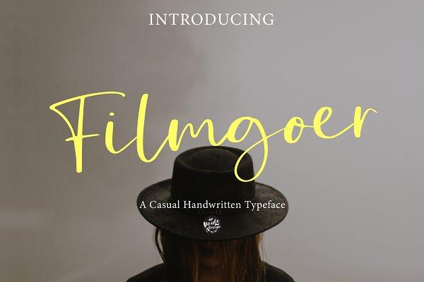 Filmgoer   Handwritten Font